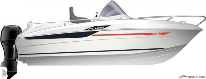 Beneteau - FLYER 550 OPEN SERIE UP / 115 PS