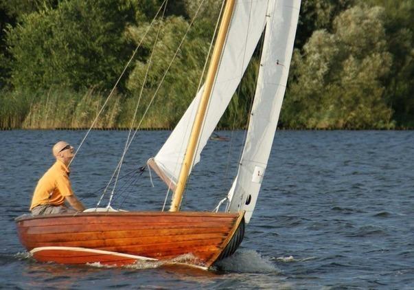 Folkboat - Folke Junior / Schönes Segelboot