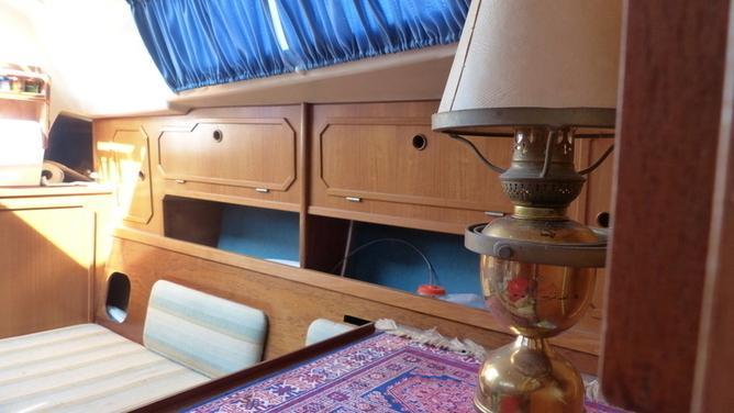 Mallard - Segelboot mit Saildrive und viel Zubehör
