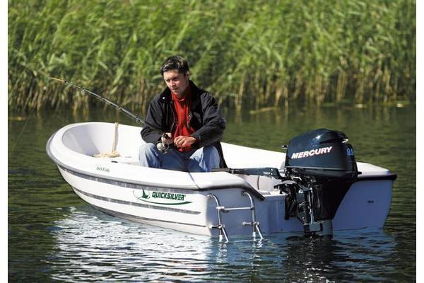Quicksilver - 360 Fish, Angelboot