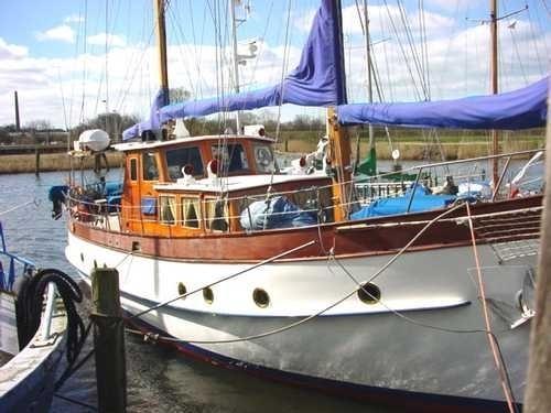 Lührsen 21,50m Kutteryacht, Baltic Sea