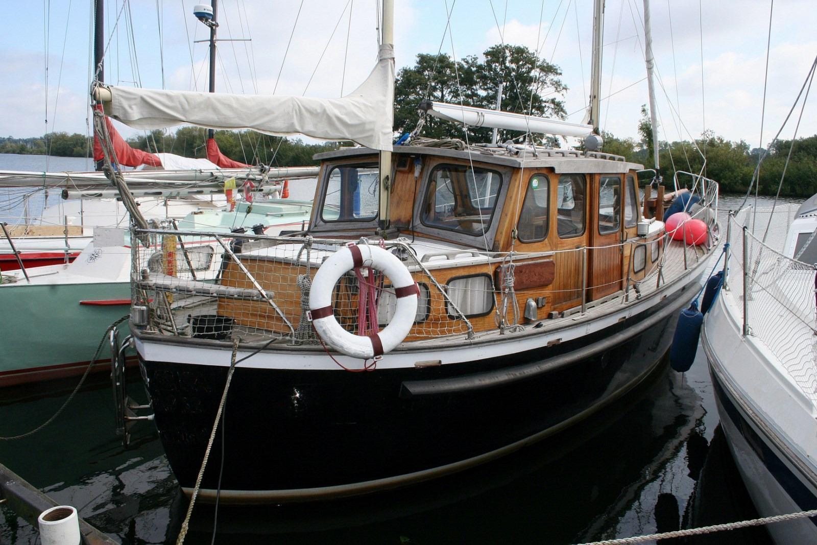 Faenoé Faenoe 33 / Nauticat 33, near to Greifswald