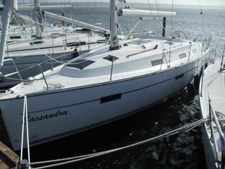Bavaria Cruiser 36, baltic sea